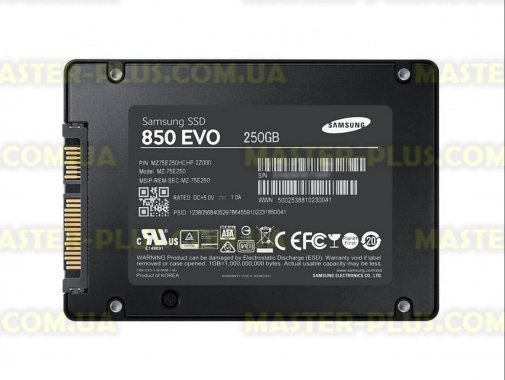 Купить Накопитель SSD 2.5 250GB Samsung (MZ-75E250BW)
