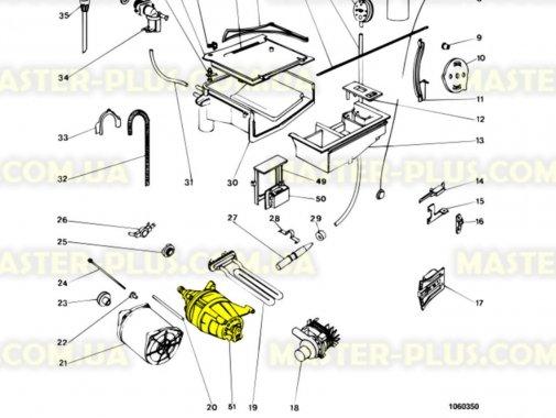 Мотор Indesit Ariston C00027208 для стиральной машины