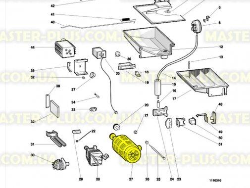 Мотор Indesit C00034685 для стиральной машины