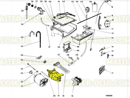 Мотор Indesit C00037891 для стиральной машины