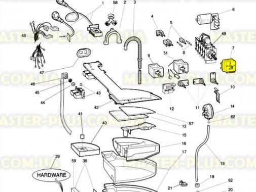 Программатор (селектор программ) Indesit Ariston C00064555 для стиральной машины