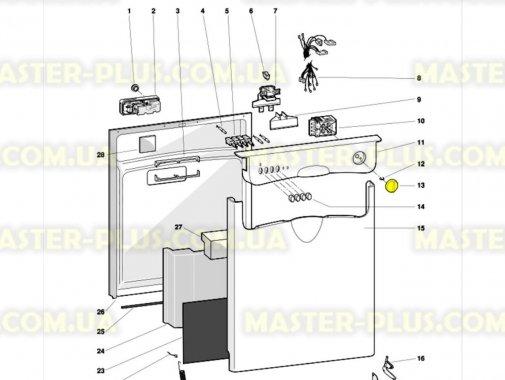 Ручка вибору програм Indesit C00075719 для посудомийної машини