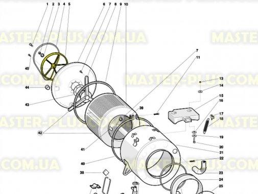 Шкив Indesit Ariston C00104529 для стиральной машины