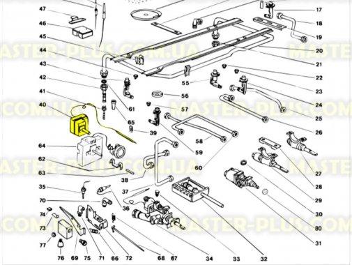 Термостат духовки для плиты Indesit C00108760