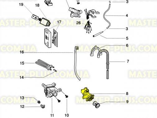 Насос (помпа) Indesit Ariston C00141862 для стиральной машины