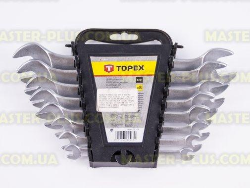 Ключі ріжкові 6-22мм, набір 8шт TOPEX 35D656 для ремонту і обслуговування побутової техніки