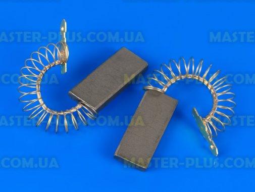 Щетки угольные 5*12,5*36 цельные, провод по центру с пружинкой для стиральной машины