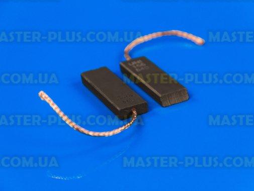 Щетки угольные 5*13,5*40 клееные, провод по центру (отличного качества) для стиральной машины