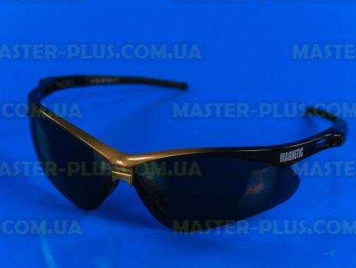 Окуляри захисні Magnetic (затемнені) кольорова оправа Sigma 9410381 для ремонту і обслуговування побутової техніки