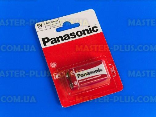Батарейка Panasonic Red Zinc RF22 BLI 1шт Zinc-Carbon (6F22REL/1BP)  для ремонта и обслуживания бытовой техники