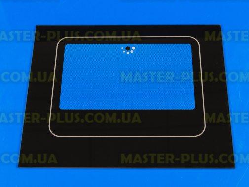 Наружное стекло для плиты NORD 490х395мм (черное) для плиты и духовки