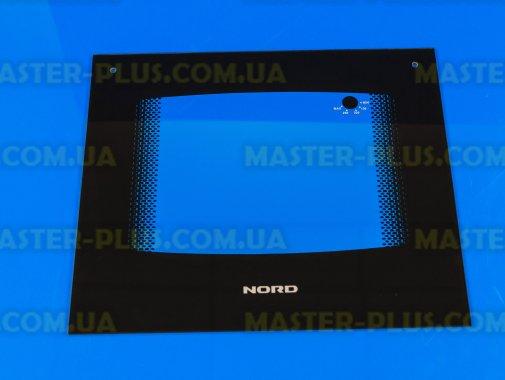 Наружное стекло для плиты NORD 498*428мм (черное) для плиты и духовки