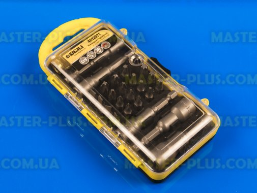 Набор головок под шуруповерт и бит с адаптером 26шт Sigma 4012021 для ремонта и обслуживания бытовой техники