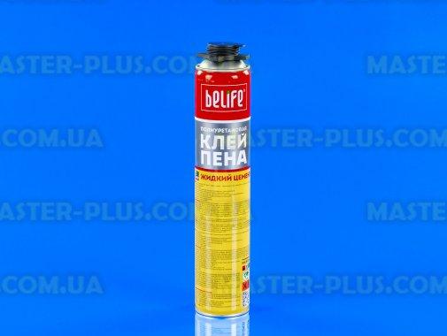 """Полиуретановая клей-пена """"жидкий цемент"""" BeLife 850ml для ремонта и обслуживания бытовой техники"""