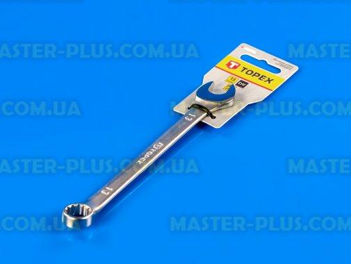 Ключ комбинированный 13мм длина 170мм TOPEX 35D708 для ремонта и обслуживания бытовой техники