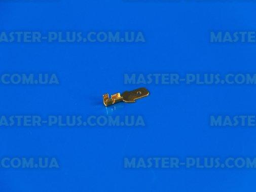 Клемма ножевая (папа), 4.8mm, под кабель, без изоляции для ремонта и обслуживания бытовой техники