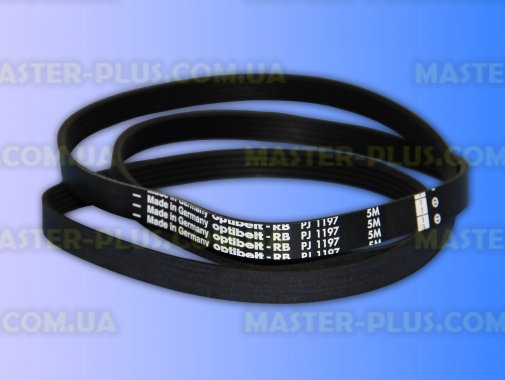 Купить Ремень 1197 J5 «Optibelt» черный