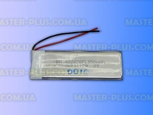 Универсальный аккумулятор для планшета 402878PL 3,7V 950mAh для ремонта и обслуживания бытовой техники