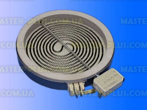 Конфорка для стеклокерамической поверхности 1200watt Whirlpool  481231018887 для плиты и духовки