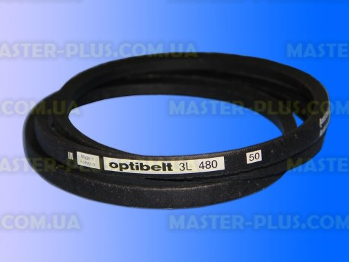 Ремень клиновидный 3L480 «Optibelt» для стиральной машины