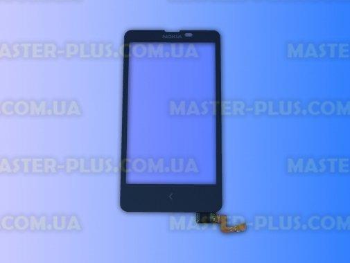 Тачскрін для телефону Nokia X Dual Sim Android Black для мобільного телефона