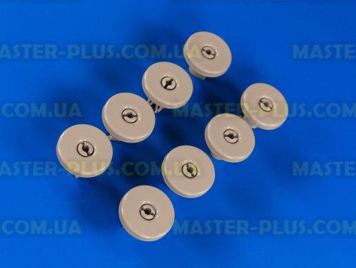 Комплект роликов (колес) корзины для посудомоечной машины совместимый с Electrolux 50286965004 для посудомоечной машины