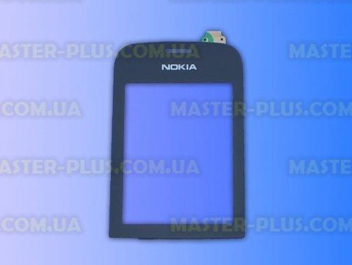 Тачскрин для телефона Nokia 202 Black для мобильного телефона