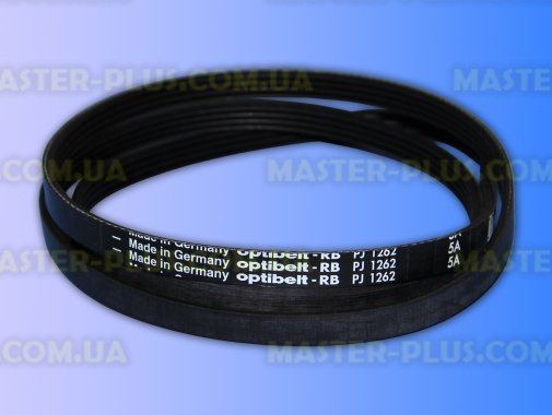 Ремень 1262 J4 «Optibelt» черный для стиральной машины