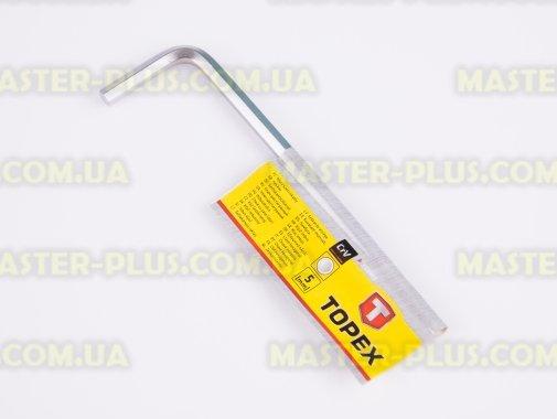 Ключ шестигранний 5 мм TOPEX 35D905 для ремонту і обслуговування побутової техніки