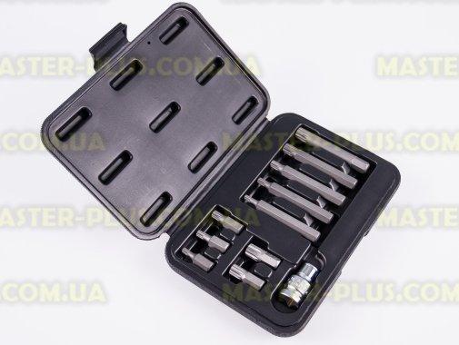 Набор 12-гранных бит Spline с адаптером 11шт TOPEX 39D392 для ремонта и обслуживания бытовой техники