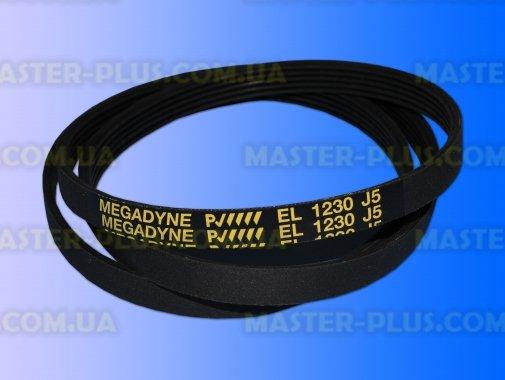 Купить Ремень 1230 J5 EL «Megadyne» Черный