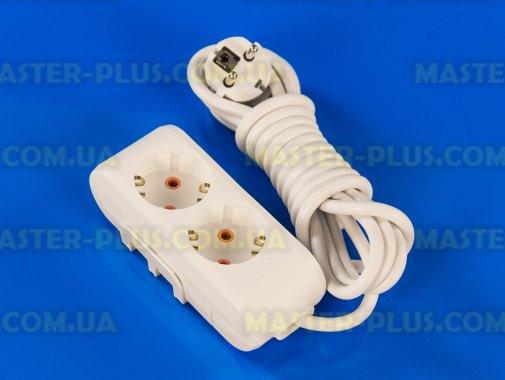 Купить Фильтр сетевой (удлинитель) на 2 розетки 3м с заземлением Viko Multi-Let