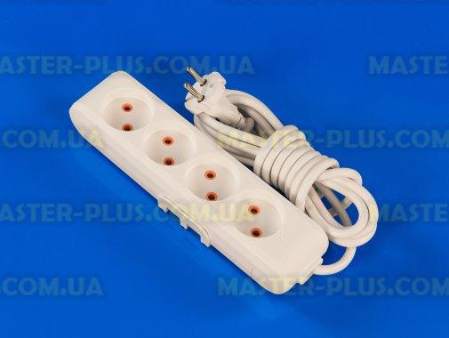 Фільтр мережевий (подовжувач) на 4 розетки 3м Viko Multi-Let для ремонту і обслуговування побутової техніки