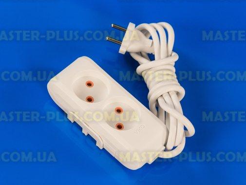 Купить Фильтр сетевой (удлинитель) на 2 розетки 2м Viko Multi-Let