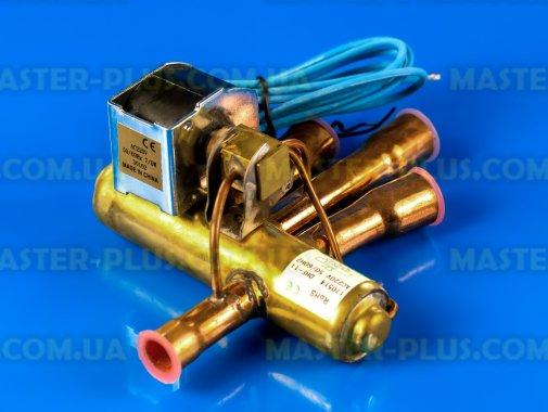 Клапан 4-х ходовий (соленоїд) 10мм/14мм DHF 11B для кондиціонера