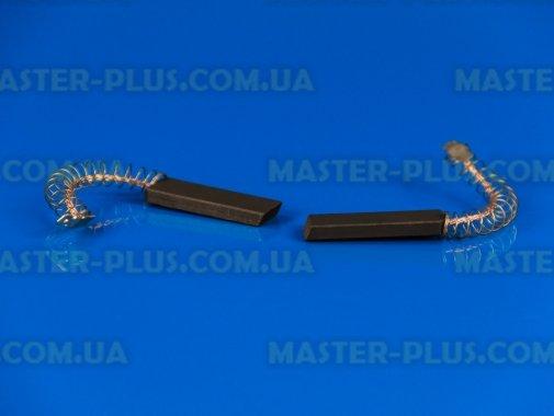 Щетки угольные 5*13,6*43,3 клееные, провод по центру с пружинкой SKL для стиральной машины