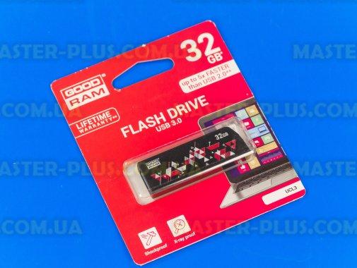 USB флеш накопичувач GOODRAM 32GB UCL3 Click Black USB 3.0 (UCL3-0320K0R11) для комп'ютера