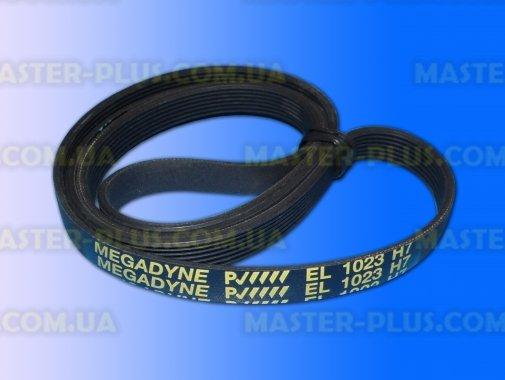 Ремень 1023 H7 EL «Megadyne» черный для стиральной машины