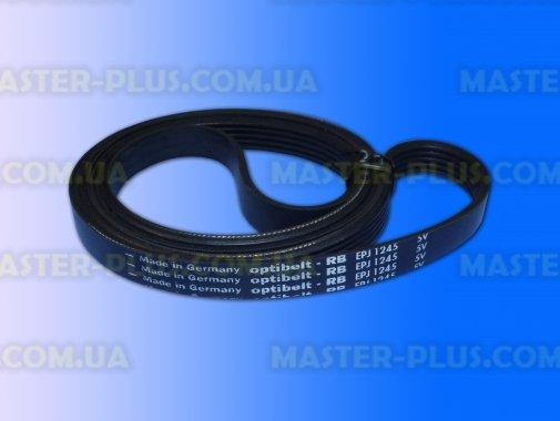 Ремінь 1245 J5 EL «Optibelt» чорний для пральної машини