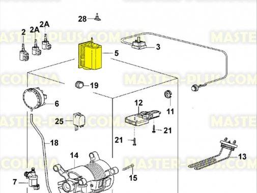 Программатор (селектор программ) Electrolux Zanussi 1249214618 для стиральной машины