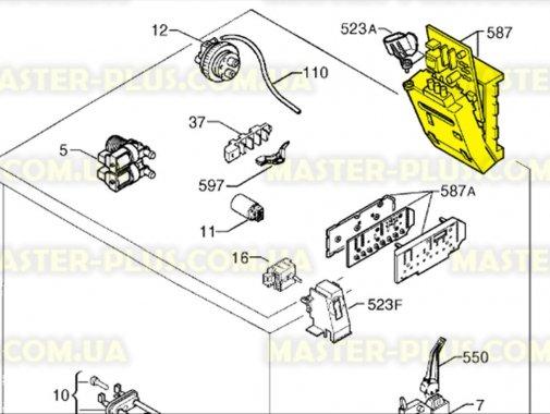 Модуль (плата) Electrolux 973914517209008 для стиральной машины