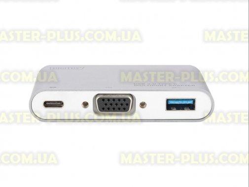 Купить Переходник Type-C to VGA/USB 3.0/Type-C DIGITUS (DA-70839)