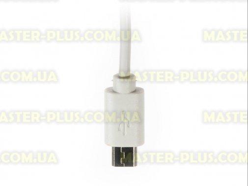 Дата кабель Vinga Rainbow M White USB 2.0 AM – Micro USB Тип B 1.0м (CUM0100WH) для мобильного телефона