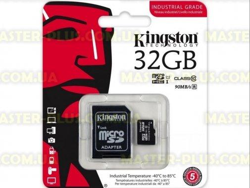 Купить Карта памяти Kingston 32GB microSD class 10 UHS-I Industrial (SDCIT/32GB)