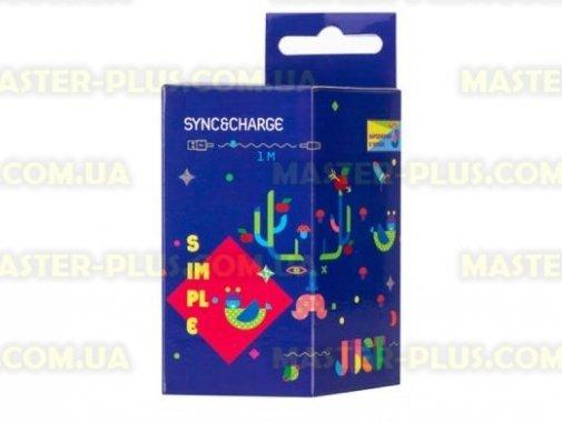 Купить Дата кабель JUST Simple Lighting USB Cable Pink 1M (LGTNG-SMP10-PNK)