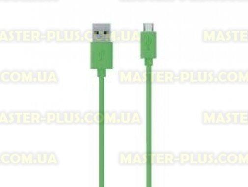Купить Дата кабель USB 2.0 AM to Micro 5P 2.0m Belkin (F2CU012bt2M-GRN)