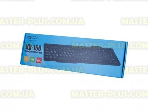 Купить Клавиатура GEMIX KB-150 black, USB