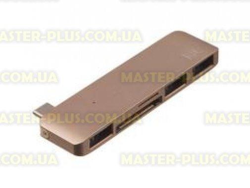 Купить Переходник Type-C to 3*USB 3.0, SD/microSD reader (Gold) Kit (C5IN1GD)