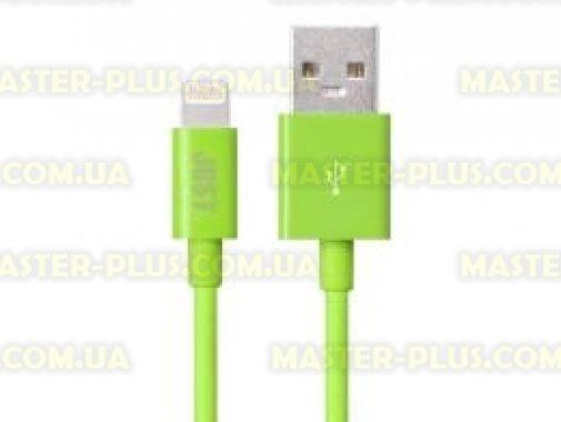 Купить Дата кабель JUST Simple Lighting USB Cable Green 1M (LGTNG-SMP10-GRN)