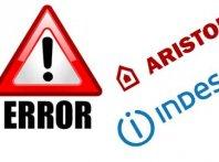 Сервисные коды (коды ошибок) посудомоечных машин Indesit и Ariston